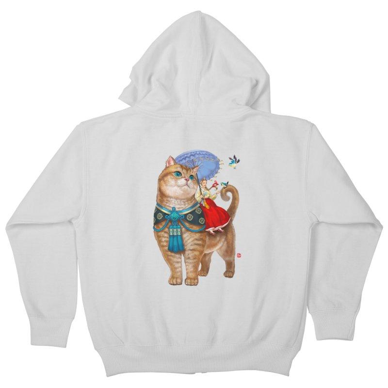 Hosico Hanbok Kids Zip-Up Hoody by Hosico's Shop