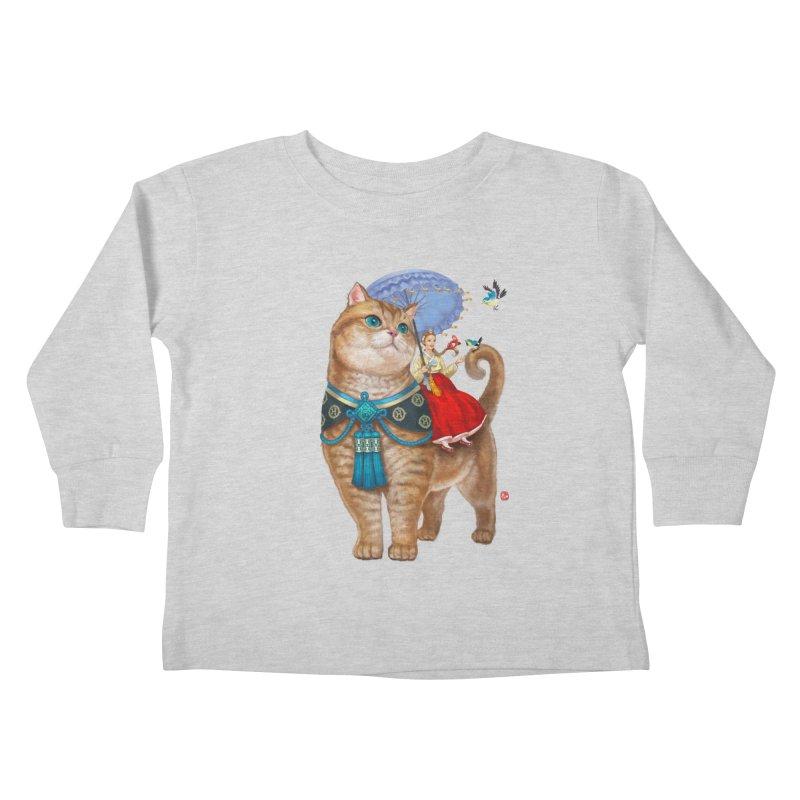 Hosico Hanbok Kids Toddler Longsleeve T-Shirt by Hosico's Shop