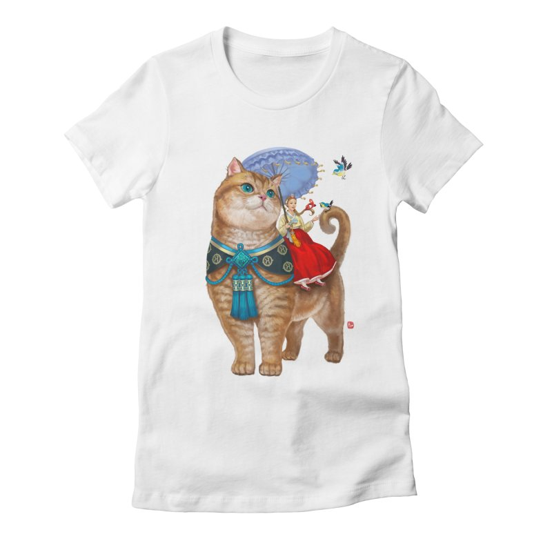 Hosico Hanbok Women's Fitted T-Shirt by Hosico's Shop