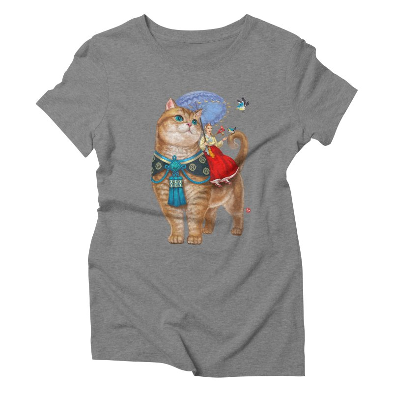 Hosico Hanbok Women's Triblend T-Shirt by Hosico's Shop