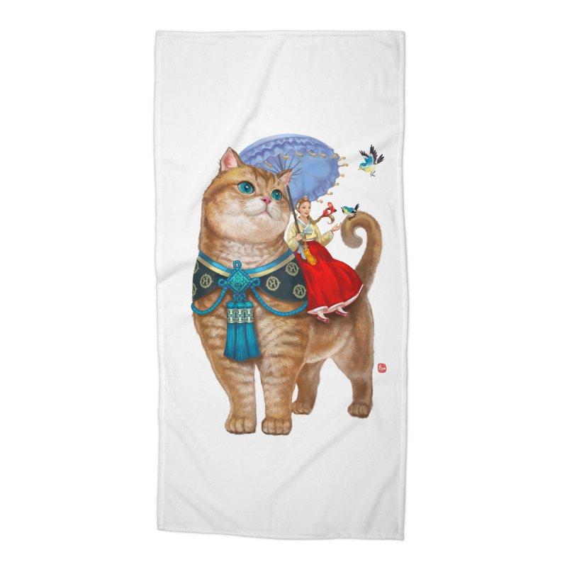 Hosico Hanbok Accessories Beach Towel by Hosico's Shop
