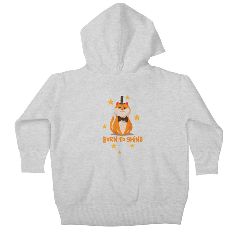 Born To Shine Kids Baby Zip-Up Hoody by Hosico's Shop