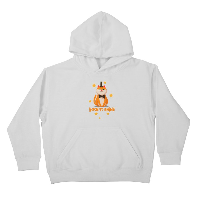 Born To Shine Kids Pullover Hoody by Hosico's Shop
