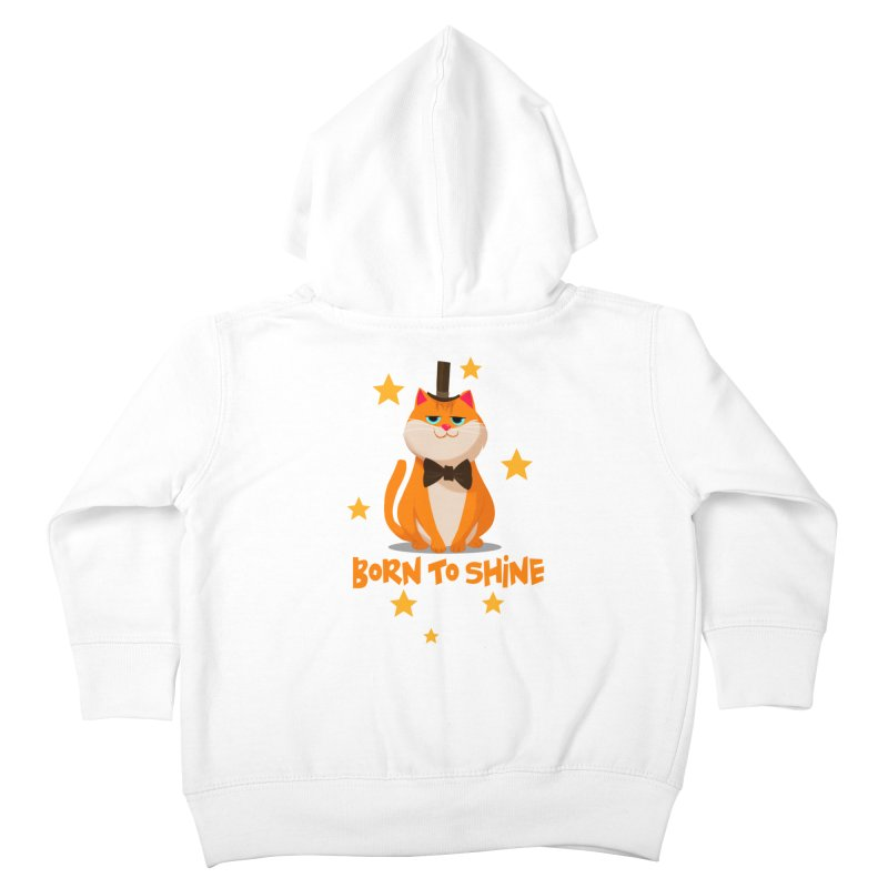 Born To Shine Kids Toddler Zip-Up Hoody by Hosico's Shop