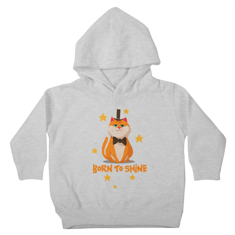 Born To Shine Kids Toddler Pullover Hoody by Hosico's Shop