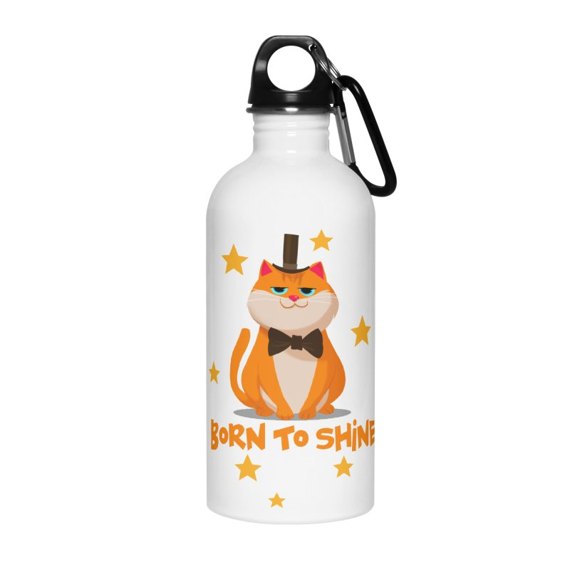 Born To Shine Accessories Water Bottle by Hosico's Shop