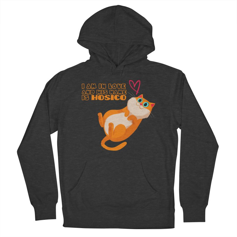 I am in love and his name is Hosico Women's French Terry Pullover Hoody by Hosico's Shop