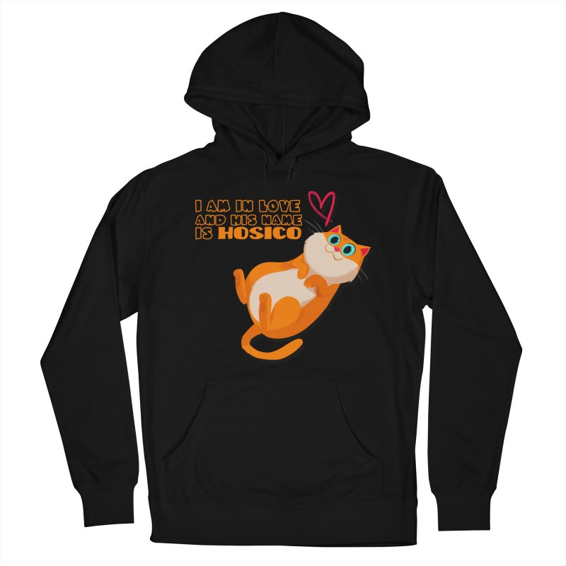 I am in love and his name is Hosico Women's Pullover Hoody by Hosico's Shop