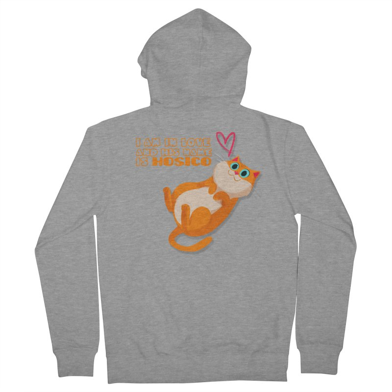 I am in love and his name is Hosico Women's Zip-Up Hoody by Hosico's Shop