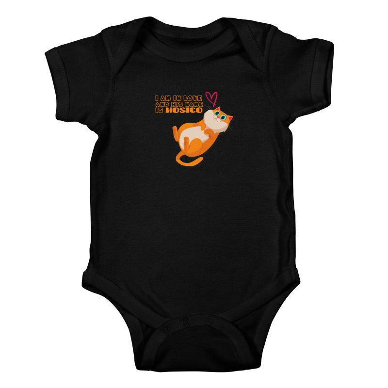 I am in love and his name is Hosico Kids Baby Bodysuit by Hosico's Shop