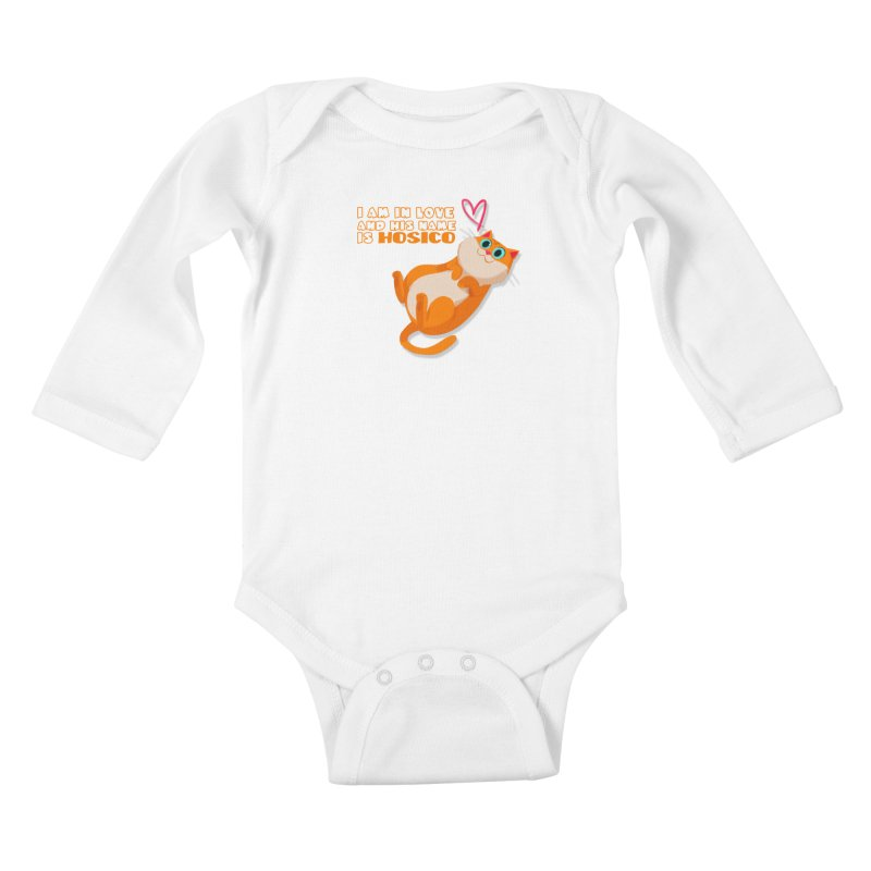 I am in love and his name is Hosico Kids Baby Longsleeve Bodysuit by Hosico's Shop