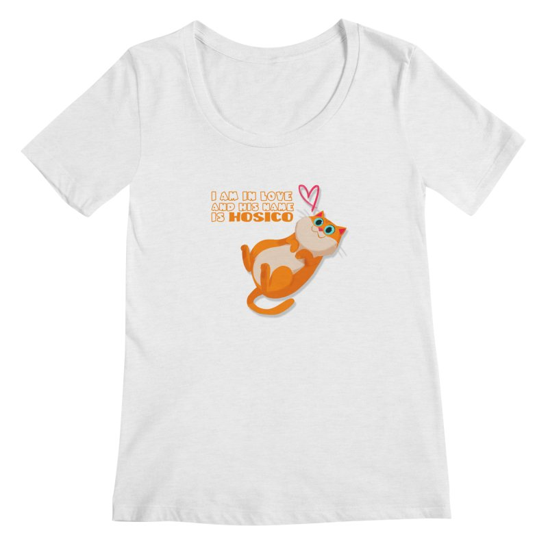 I am in love and his name is Hosico Women's Scoop Neck by Hosico's Shop