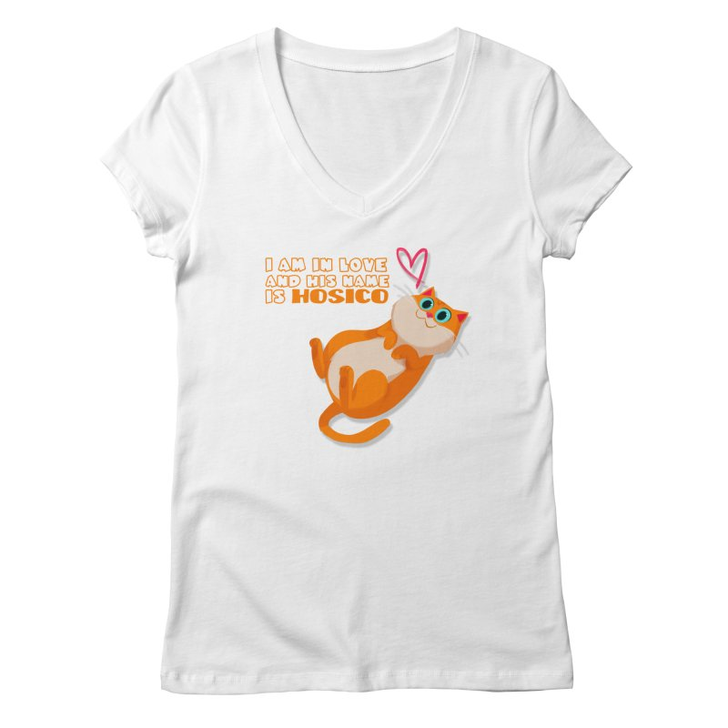 I am in love and his name is Hosico Women's Regular V-Neck by Hosico's Shop