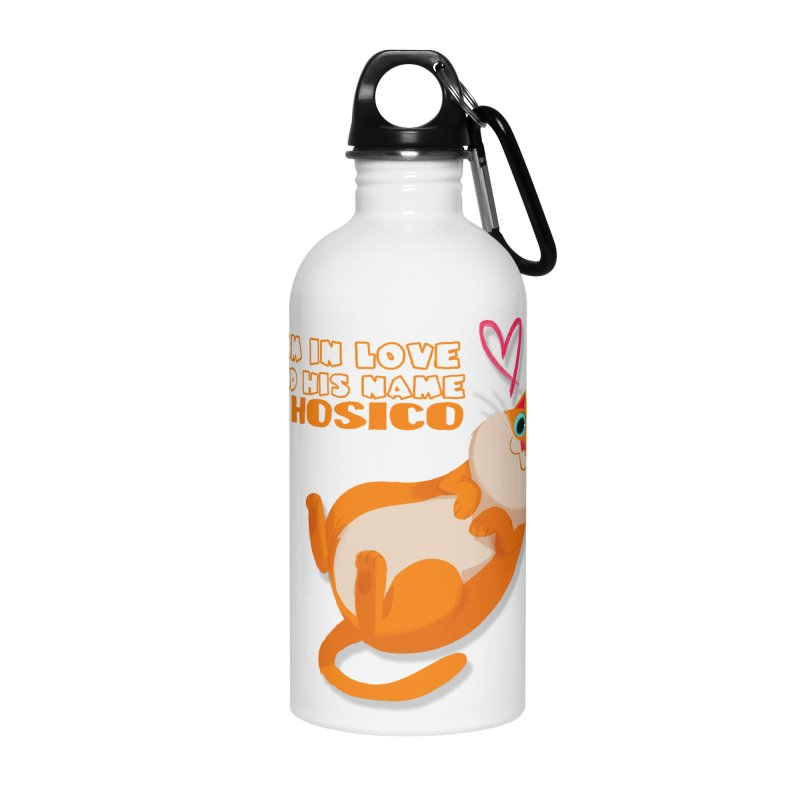 I am in love and his name is Hosico Accessories Water Bottle by Hosico's Shop
