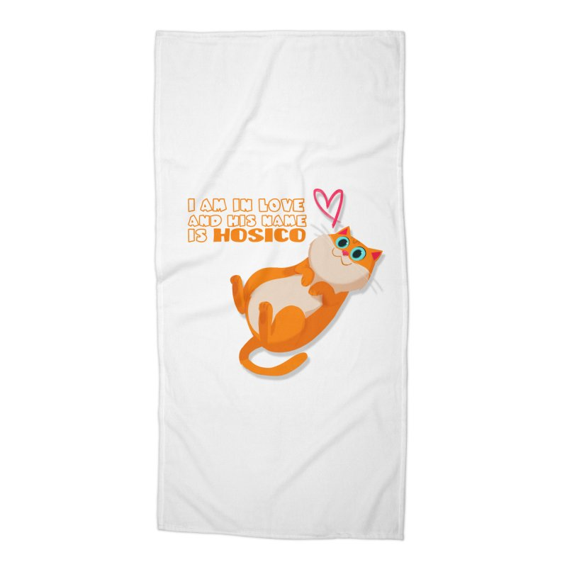 I am in love and his name is Hosico Accessories Beach Towel by Hosico's Shop