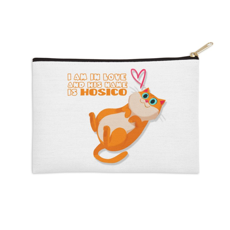 I am in love and his name is Hosico Accessories Zip Pouch by Hosico's Shop