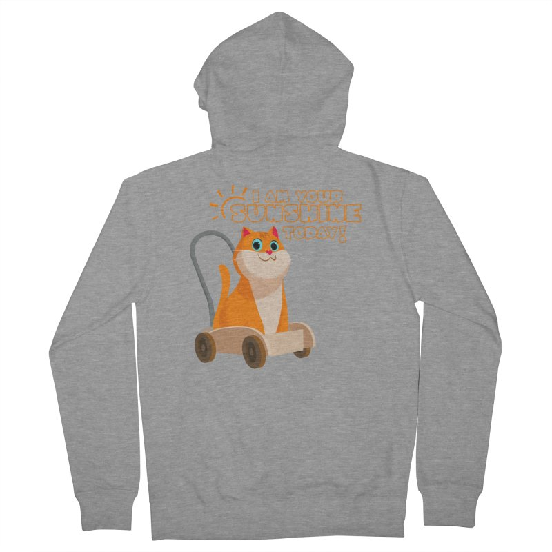 I am your Sunshine Today! Men's Zip-Up Hoody by Hosico's Shop