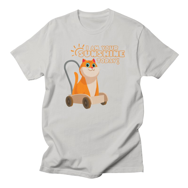 I am your Sunshine Today! Men's Regular T-Shirt by Hosico's Shop