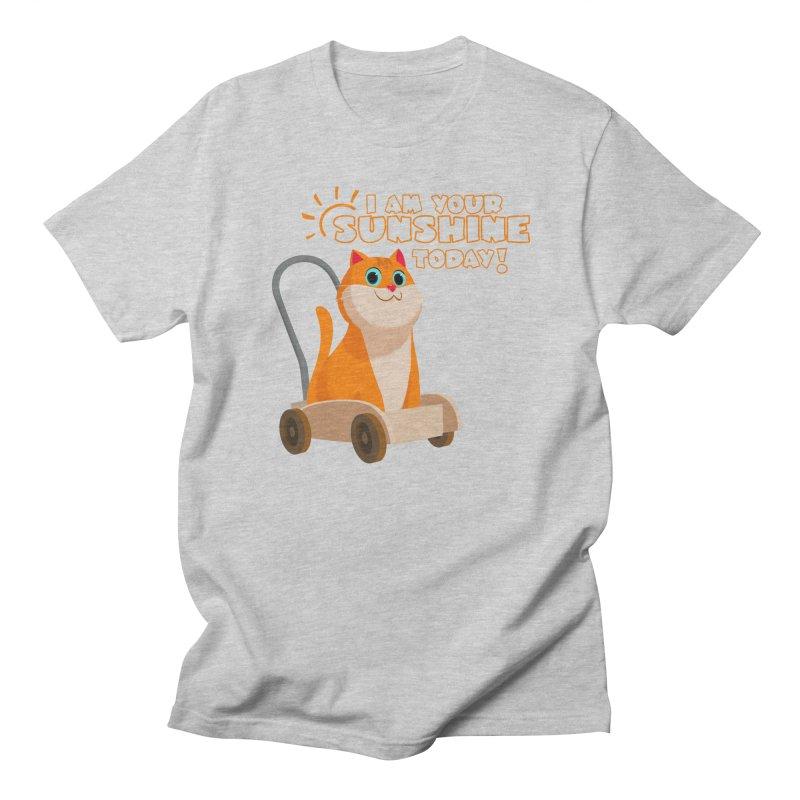 I am your Sunshine Today! Men's Regular T-Shirt by Hosico's Shop