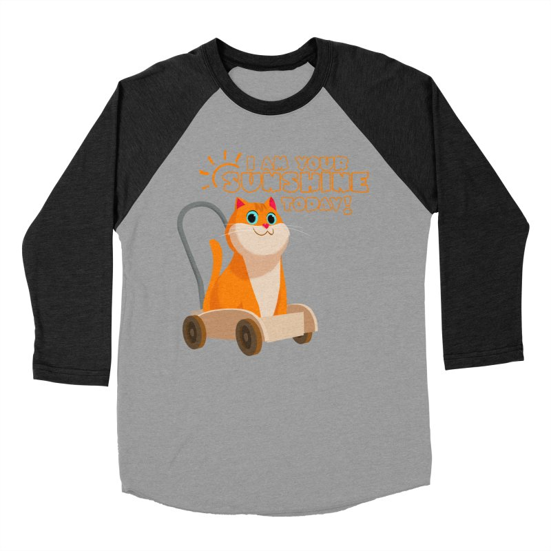 I am your Sunshine Today! Men's Baseball Triblend Longsleeve T-Shirt by Hosico's Shop