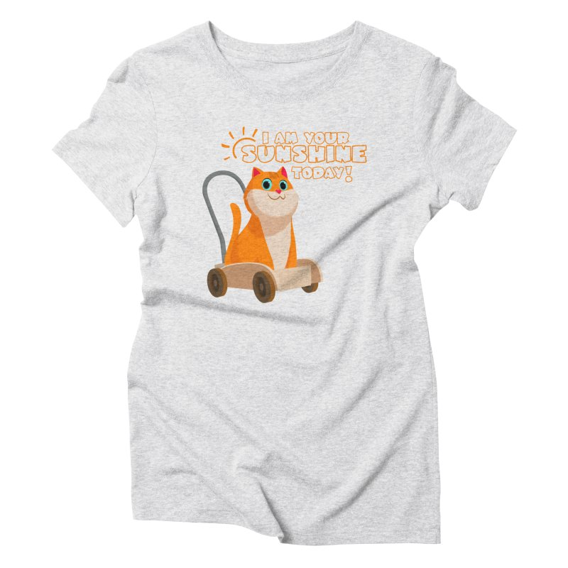 I am your Sunshine Today! Women's Triblend T-Shirt by Hosico's Shop