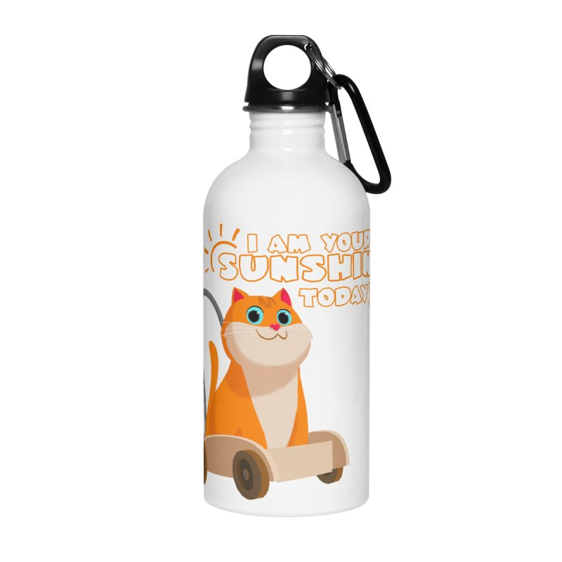 I am your Sunshine Today! Accessories Water Bottle by Hosico's Shop