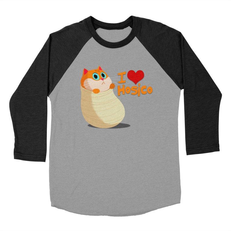 I Love Hosico Men's Baseball Triblend T-Shirt by Hosico's Shop