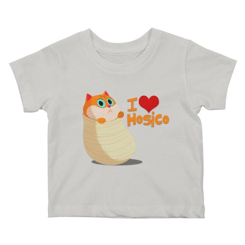 I Love Hosico Kids Baby T-Shirt by Hosico's Shop