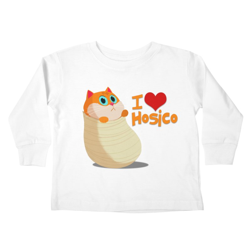 I Love Hosico Kids Toddler Longsleeve T-Shirt by Hosico's Shop
