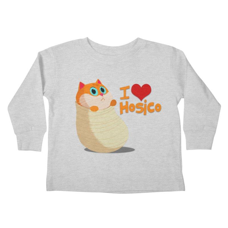 I Love Hosico Kids Toddler Longsleeve T-Shirt by Hosico's Shop