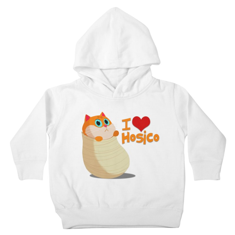 I Love Hosico Kids Toddler Pullover Hoody by Hosico's Shop