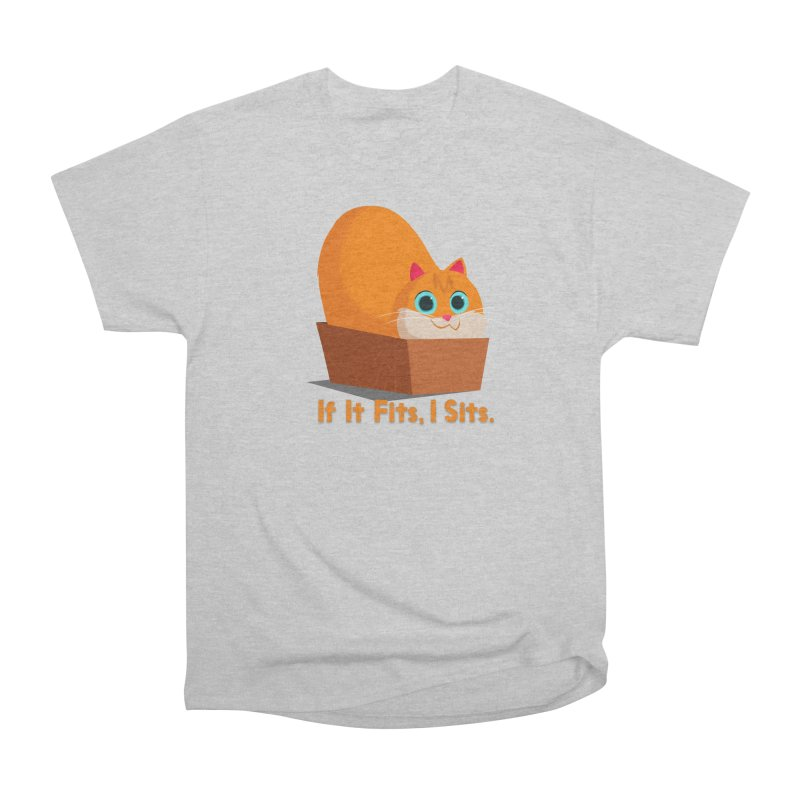 If it fits, i sits Men's Heavyweight T-Shirt by Hosico's Shop