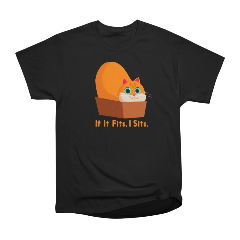 If it fits, i sits Women's Heavyweight Unisex T-Shirt by Hosico's Shop