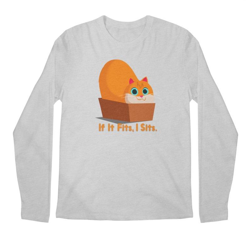 If it fits, i sits Men's Longsleeve T-Shirt by Hosico's Shop