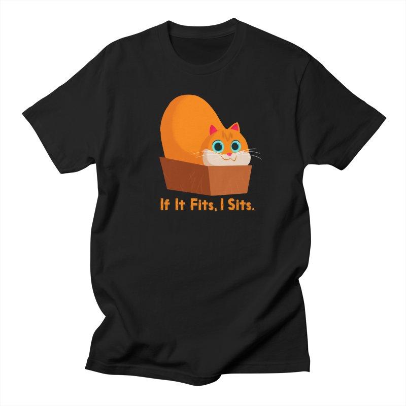 If it fits, i sits Men's Regular T-Shirt by Hosico's Shop