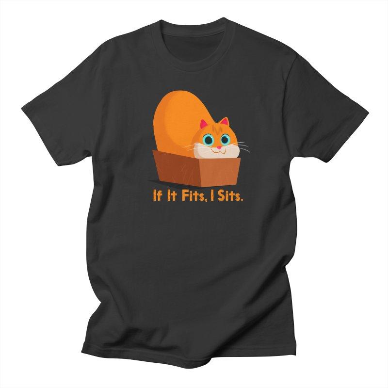 If it fits, i sits Men's T-Shirt by Hosico's Shop
