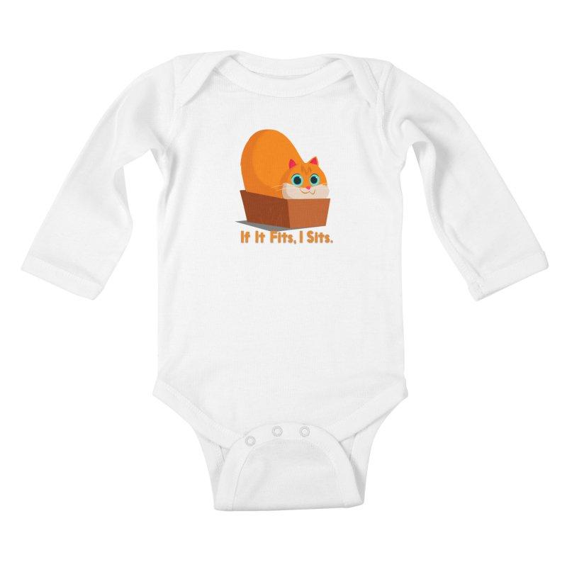 If it fits, i sits Kids Baby Longsleeve Bodysuit by Hosico's Shop