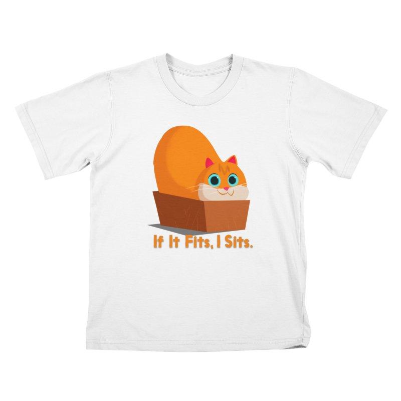 If it fits, i sits Kids T-Shirt by Hosico's Shop