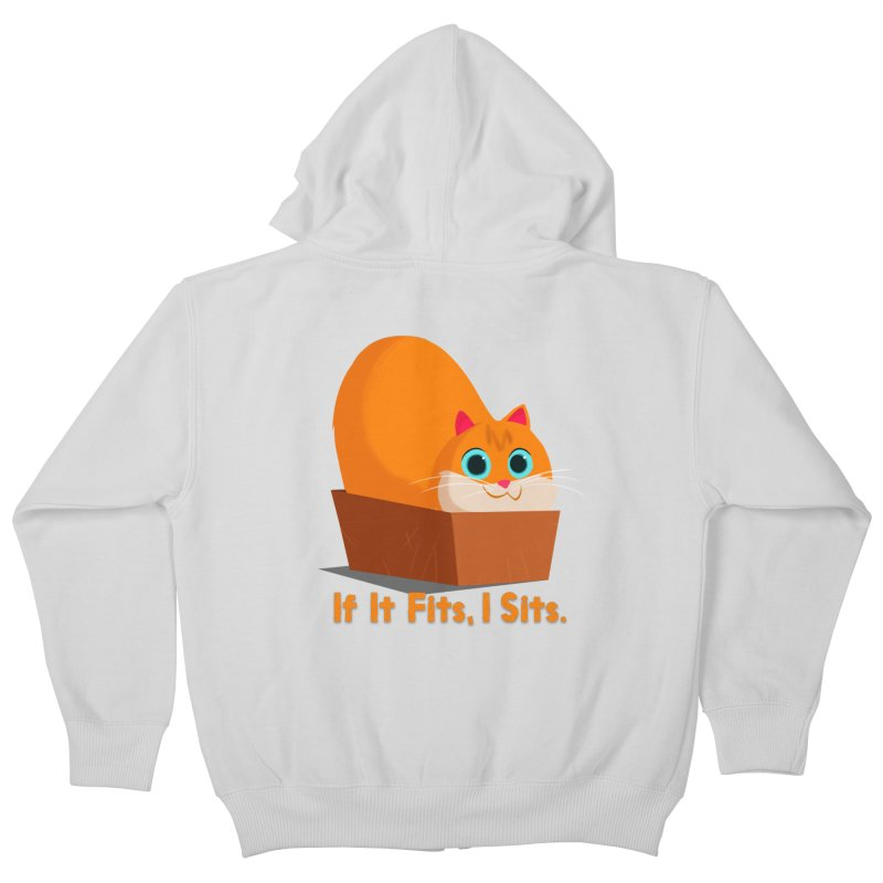 If it fits, i sits Kids Zip-Up Hoody by Hosico's Shop