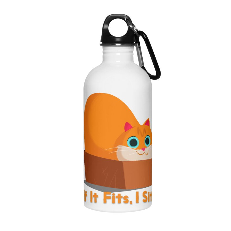 If it fits, i sits Accessories Water Bottle by Hosico's Shop