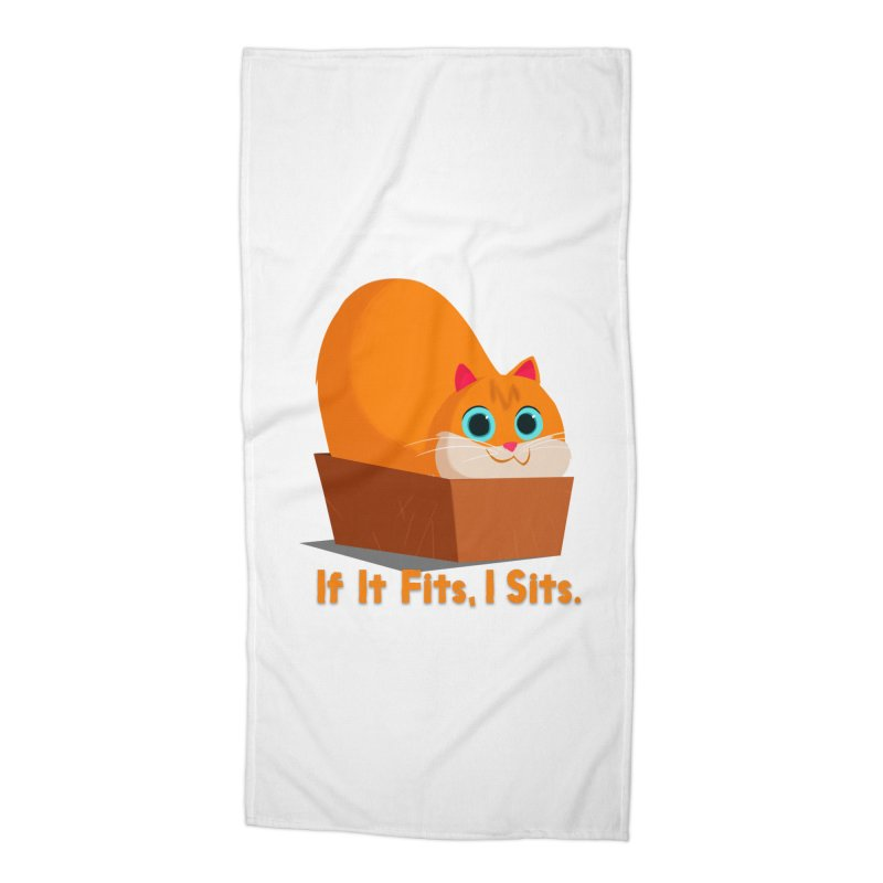 If it fits, i sits Accessories Beach Towel by Hosico's Shop