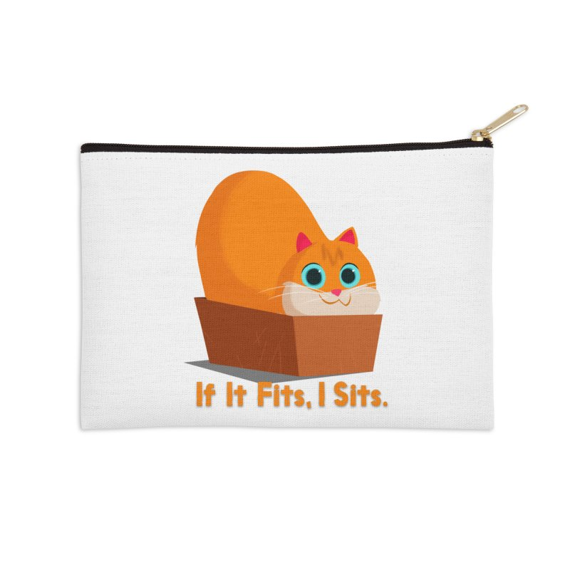 If it fits, i sits Accessories Zip Pouch by Hosico's Shop