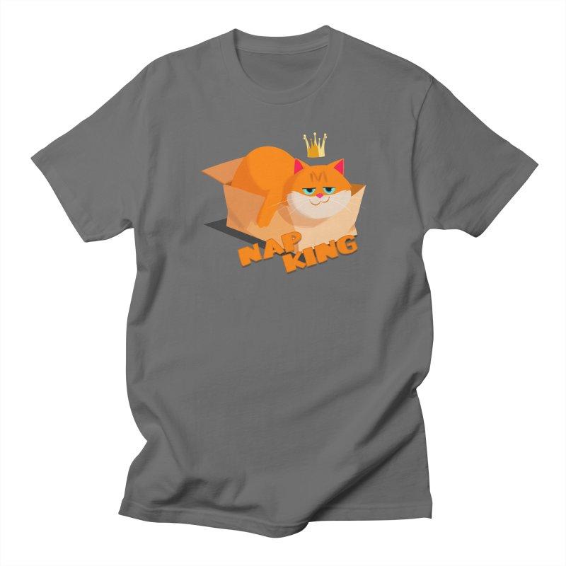 Nap King Men's T-Shirt by Hosico's Shop
