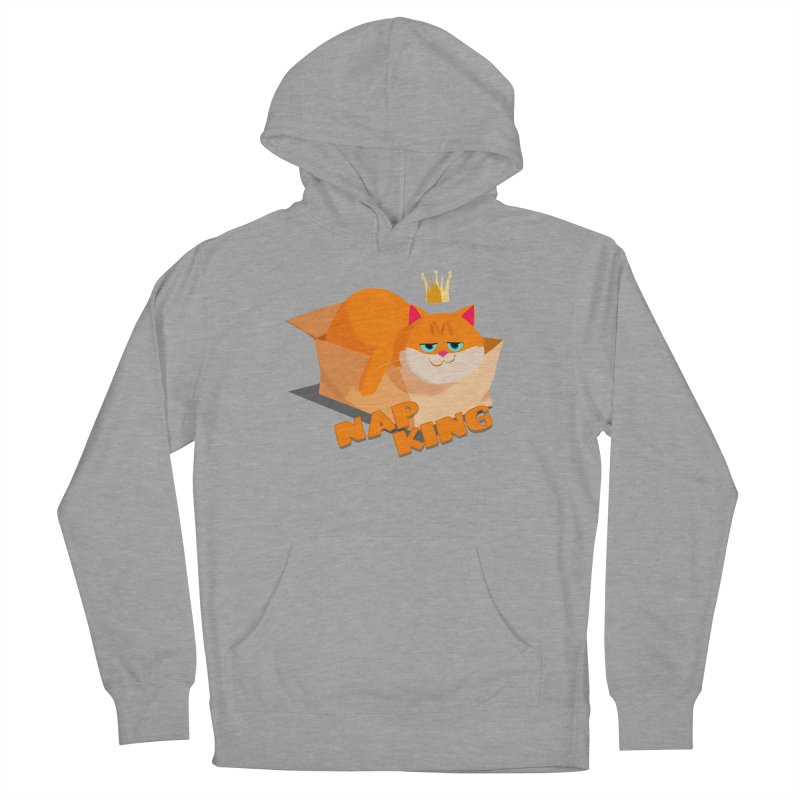 Nap King Women's French Terry Pullover Hoody by Hosico's Shop