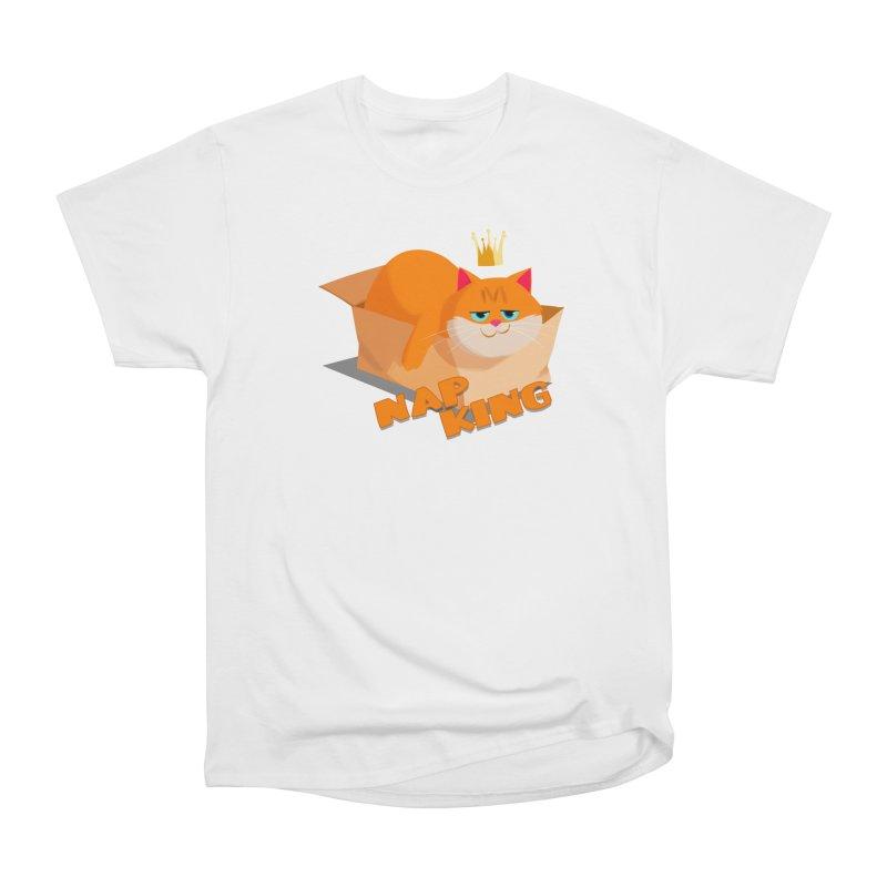 Nap King Men's Heavyweight T-Shirt by Hosico's Shop