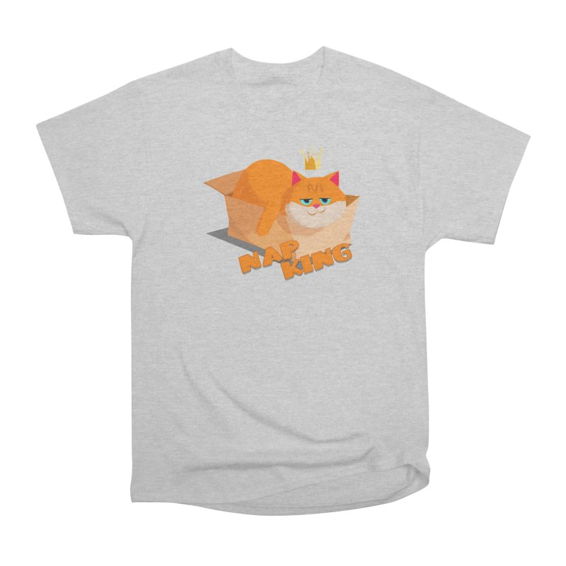 Nap King Women's Heavyweight Unisex T-Shirt by Hosico's Shop