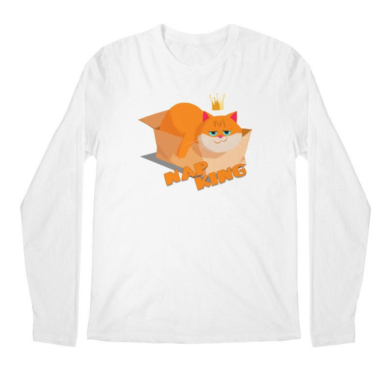 Nap King Men's Longsleeve T-Shirt by Hosico's Shop