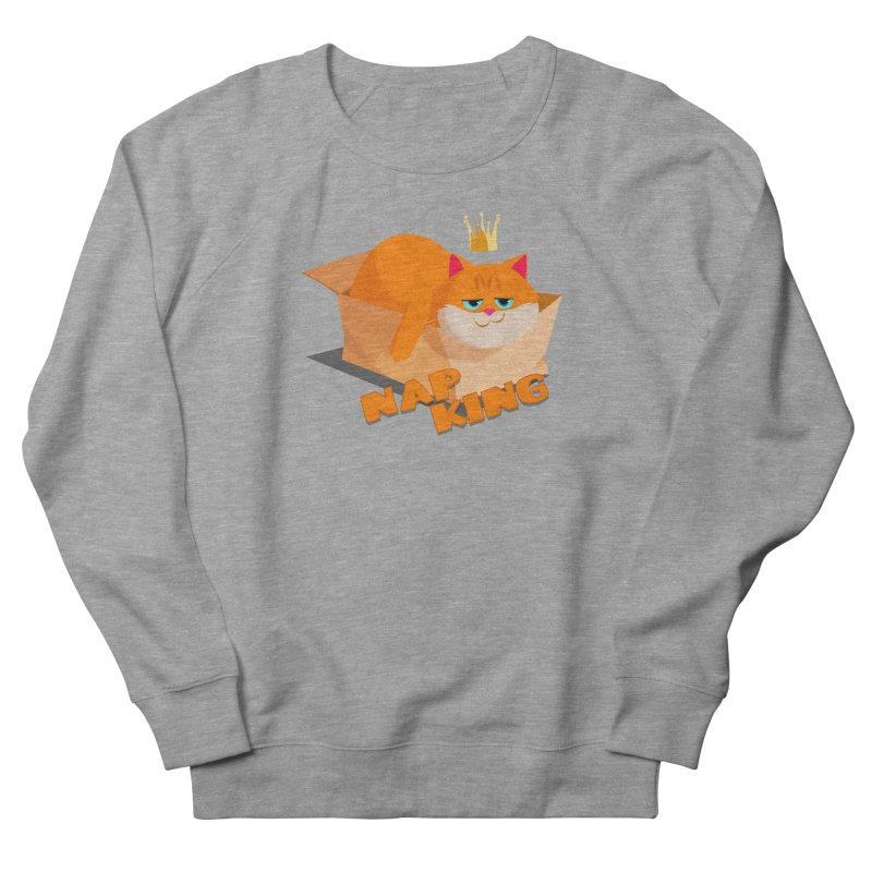 Nap King Men's French Terry Sweatshirt by Hosico's Shop