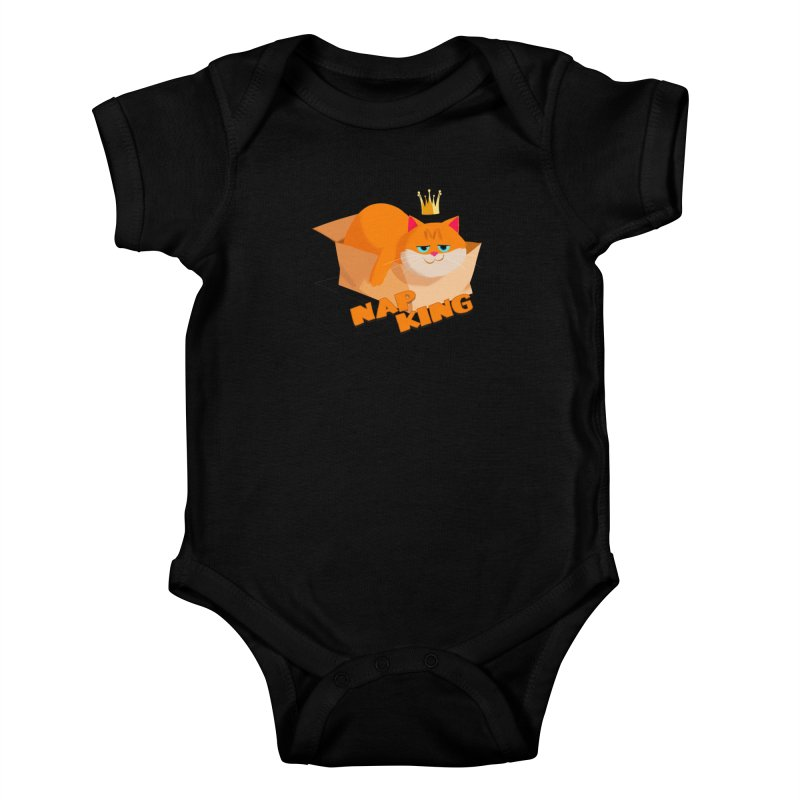Nap King Kids Baby Bodysuit by Hosico's Shop