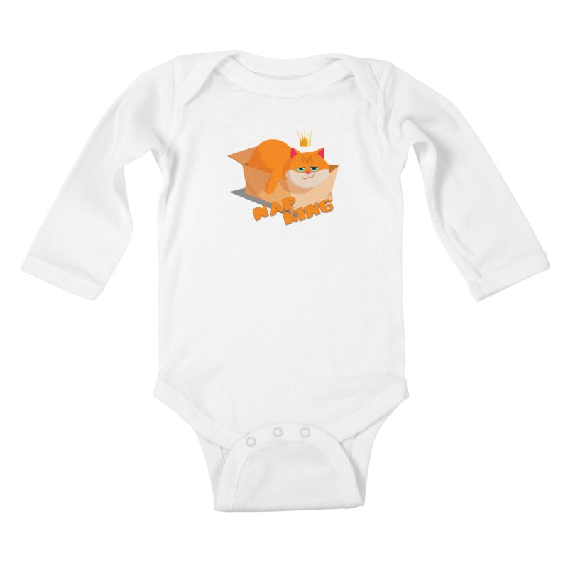 Nap King Kids Baby Longsleeve Bodysuit by Hosico's Shop